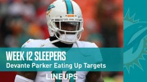 Top 8 Fantasy Sleepers for Week 12: Pick Up Parker Now