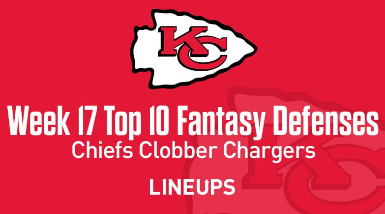 Top10FantasyDEFWeek17