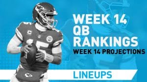 Week 14 QB Rankings & Fantasy Stats: Brissett to Go Off