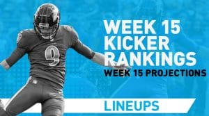 Week 15 Kicker Rankings & Pickups: Win With Will Lutz