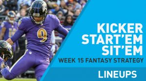 Week 15 K Start, Sit: Who to Play at Kicker: Have A Day Matt Prater