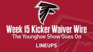 Week 15 Kicker Waiver Wire Pickups & Adds: The Younghoe Show Goes On