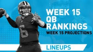 Week 15 QB Rankings & Fantasy Stats: Baker Mayfield's Rebound Week