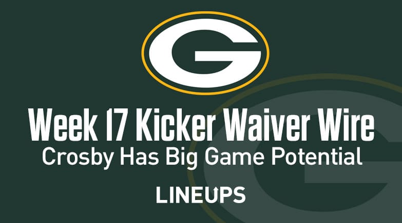 Week17KickerWaiverWire