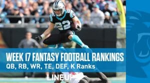 Week 17 Fantasy Football PPR Rankings & Projections: Alvin Kamara To Build On Last Week's Performance