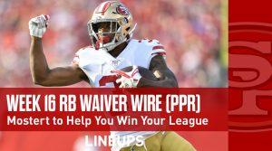 Week 16 RB Waiver Pickups & Adds: Kerryon Johnson Making a Return?