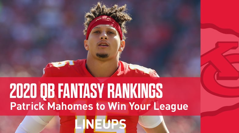 2020 fantasy quarterback rankings