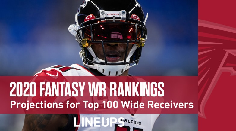 2020 fantasy wide receiver rankings