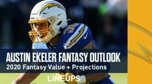 Austin Ekeler Fantasy Football Outlook & Value 2020
