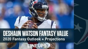 Deshaun Watson Fantasy Football Outlook & Value 2020