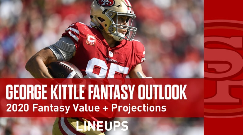 george kittle fantasy outlook 2020