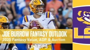 Joe Burrow Fantasy Football Outlook & Value 2020