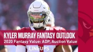 Kyler Murray 2020 Fantasy Outlook & Value: ADP, Auction Value