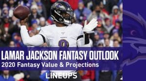 Lamar Jackson Fantasy Football Outlook & Value 2020