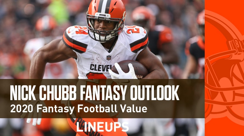 nick chubb fantasy value 2020