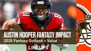Austin Hooper Fantasy Outlook & Value 2020