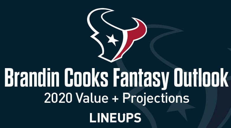 brandin cooks fantasy value 2020