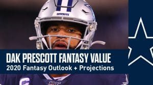 Dak Prescott Fantasy Football Value & Outlook 2020