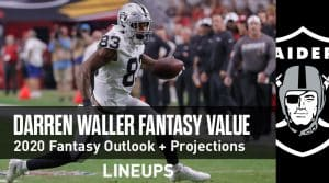 Darren Waller Fantasy Football Outlook & Value 2020