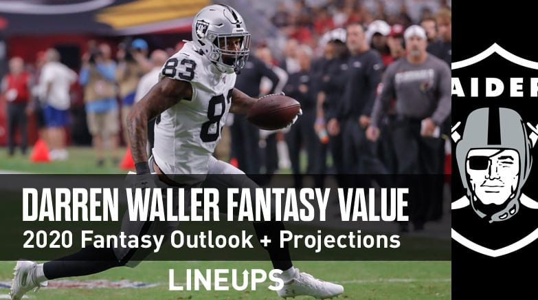 darren waller fantasy value 2020