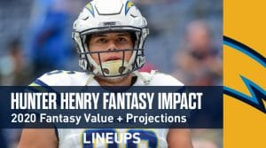 Hunter Henry Fantasy Outlook & Value 2020
