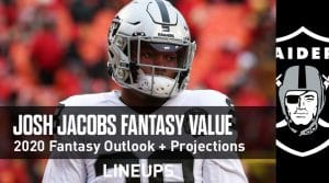 Josh Jacobs Fantasy Outlook & Value 2020