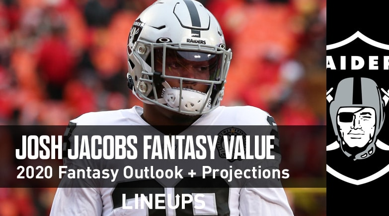 josh jacobs fantasy value 2020