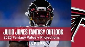 Julio Jones Football Outlook & Value 2020