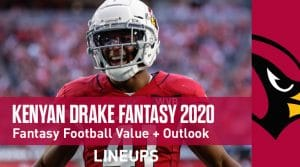 Kenyan Drake Fantasy Football Outlook & Value 2020
