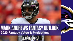 Mark Andrews Fantasy Football Outlook & Value 2020