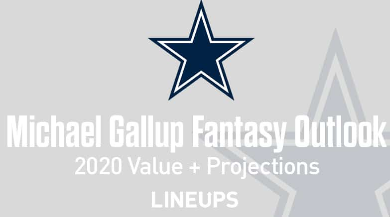 michael gallup fantasy value 2020