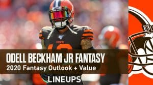 Odell Beckham Jr. Fantasy Football Outlook & Value 2020