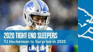 Top 7 Fantasy Football Tight End Sleepers 2020