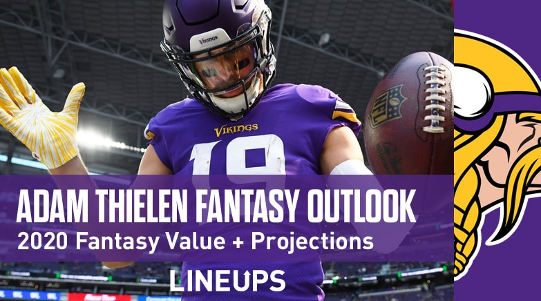 adam thielen fantasy value 2020
