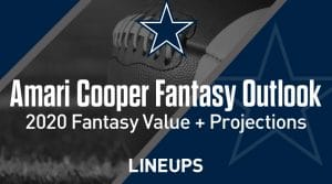 Amari Cooper Fantasy Outlook & Value 2020