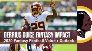 Derrius Guice Fantasy Football Value & Outlook 2020