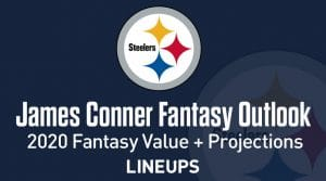 James Conner Fantasy Football Outlook & Value 2020