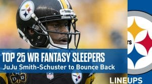Top 25 Wide Receiver Fantasy Football Sleepers