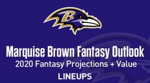 Marquise Brown Fantasy Football Outlook & Value 2020