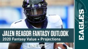 Jalen Reagor Fantasy Outlook & Value 2020
