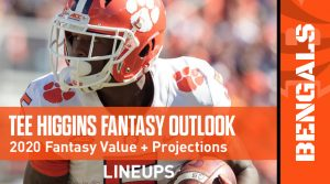 Tee Higgins Fantasy Outlook & Value 2020