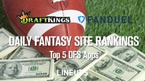 Daily Fantasy Site Rankings: Top 5 DFS Apps
