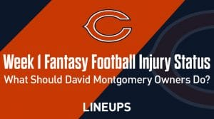Fantasy Football Injury Status Week 1: What should owners of David Montgomery do?