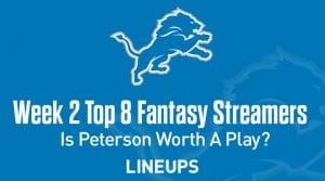 Top 8 Fantasy Football Streamers Week 2 (PPR): Injuries Leading to Opportunities For Many Wide Receivers