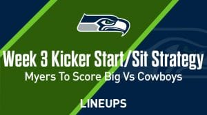 Week 3 K Start, Sit: Who to Play at Kicker: Jason Myers to Score Big Against the Cowboys