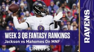 Week 3 Quarterback Rankings and Projections: Is Herbert's stock rising as a fantasy football player?