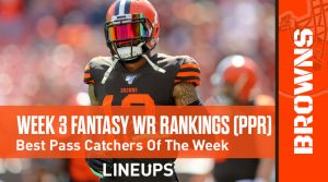 Week 3 WR Rankings & Projections (PPR): Can Allen Robinson Take Advantage Of Atlanta's Secondary?