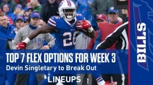 Top 7 Flex Fantasy Options for Week 3: Joshua Kelley to Parlay Strong Volume Into Dominant Game