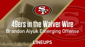 Week 4 Waiver Wire Top Pickups & Adds: Brandon Aiyuk Takes Big Step In 49ers Offense