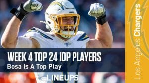 Top 24 Defensive Players (IDP) Rankings For Week 4: Jaylon Smith Has Massive Upside Against Cleveland